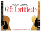 Ask about Bristol Guitar Lessons Gift Vouchers